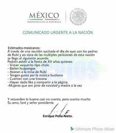 Esta invitación a unos XV años llegó a todo México y miles de personas se apuntaron para ir