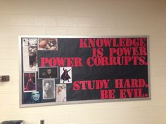 10 School Bulletin Boards That Won't Prepare You To Go Back To School from Cool Stuff D...