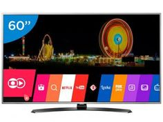 "Smart TV LED 60"" LG 4K Ultra HD 60UH7650 - WebOS Conversor Digital 3 HDMI 2 USB Wi-Fi"