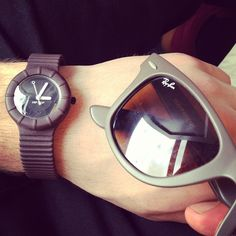 It's bigger than hip hop #watches #hiphop #rayban #sunglasses @luff91