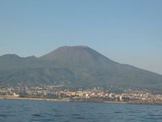 Mt. Vesuvius, Naples Italy - At this distance, the smell of Naples was pretty obvious.