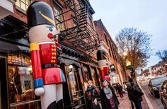 Where: Washington, D.C.Washington D.C.'s oldest neighborhood comes alive each December with the warm... - Georgetown Glow