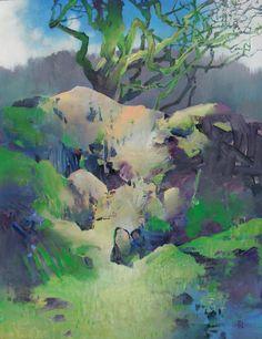 Randall David Tipton - oil on canvas 30x24