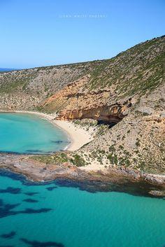 Thistle Island on de Eyre Peninsula in South Australia