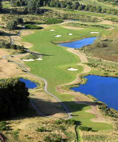 The Gleneagles course. #RyderCup