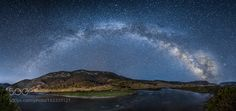Gallatin River Milky Way Pano  US191 south of Big Sky Montana  Camera: NIKON D800 Lens: Nikon 14.0-24.0 mm f/2.8 Focal Length: 14mm Shutter Speed: 25 secsec Aperture: f/2.8 ISO/Film: 5000  Image credit: http://ift.tt/29Ev6XV Visit http://ift.tt/1qPHad3 and read how to see the #MilkyWay  #Galaxy #Stars #Nightscape #Astrophotography