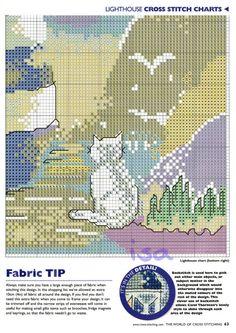 Gallery.ru / Фото #35 - The world of cross stitching 042 февраль 2001 - WhiteAngel