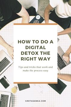 The best way to do a digital detox is by gradually reducing the amount of time you spend on technology ( screen time ) and developing healthy boundaries and habits around technology usage.If you feel that you have gotten an overload of technology usage you can do a detox fast to stop the mental overwhelm. Tips and tricks. #digitaldetox