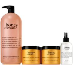everyone's buzzing about our brand new scent, honey & cream! Philosophy Products, Philosophy Skin Care, Zoella Makeup, Lotion For Dry Skin, Bright Skin, Smell Good, Skin Care Tips, Body Care, Salons