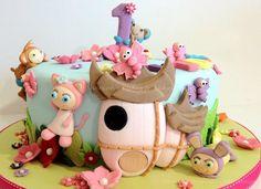 24 Cumpleaños Cupcake Oblea Arroz Comestible Waybuloo Hada Cake Toppers