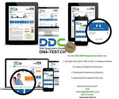 DDC DNA Diagnostics Center needed an online shop that would allow them to take their business global easily and without the administration headaches that are normally associated with sites trading in different languages, currencies and offering different payment methods. This is a completely different industry but still a website, that sale.
