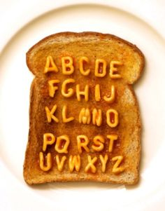 Alphabetti spaghetti alphabet