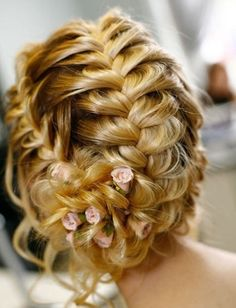 Summer Bridal Updo