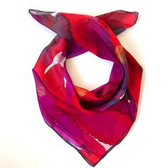 Just Like Fire, Trendy Accessories, Square Scarf, Minimal Design, Bold Colors, Instagram, Fashion, Bebe, Minimalist Design