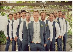 I realize I'm going wedding board crazy. Everyone is watching football and I'm entertaining myself. These groomsmen are beautiful.
