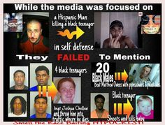 """Media Focus----- No matter what """"color"""" or race any of these people are ALL of these stories are tragic and should have been in the media---------- especially that innocent beautiful baby :/"""