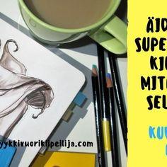 Äidin supermuistikirja ja miten teet sellaisen! Kuvitettu opas Bullet journaliin kiireiselle äidille. Teet, Tableware, Dinnerware, Tablewares, Dishes, Place Settings