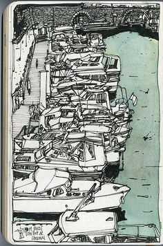 52 Trendy Ideas For Book Drawing Sketches Life Sketchbook Drawings, Ink Drawings, Drawing Sketches, Watercolor Sketch, Watercolor Illustration, Arsenal, Examples Of Art, Mixed Media Artwork, Ink Illustrations