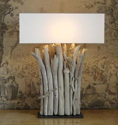diy lampen aus treibholz luchten pinterest treibholz lampe treibholz und holz. Black Bedroom Furniture Sets. Home Design Ideas