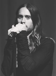Jared Leto.- Thirty Seconds To Mars.- Jared Leto.- #LoveLustFaithDreamsTour Apple Store, Berlin - 24-02-2014