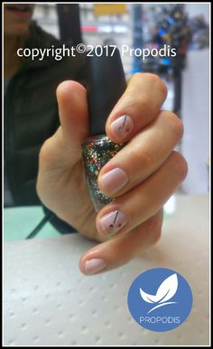 Minimal art nails You can do in Cracov ;)