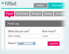 Fitbit Dashboard ... track weight loss, log activity and food.  #FitBit #WLS #VSG
