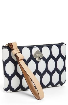 kate spade new york 'cobblestone park - bee' wristlet |