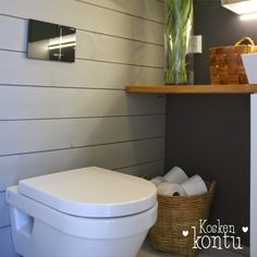 Tine k marknadskorg Toilet, Chill, Bathroom, Ideas, Washroom, Litter Box, Bathrooms, Flush Toilet, Powder Room