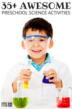 Awesome preschool science activities and experiments perfect for preschool STEM too. Encourage curiosity, observation skills, and experimenting with hands-on science experiments meant for young kids to enjoy. Also perfect for kindergarten science activities.
