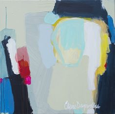 """Saatchi Online Artist: Claire Desjardins; Acrylic, 2011, Painting """"A Hundred"""""""