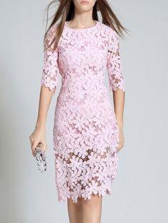 Vestidos De Encaje Para Mujer | Vestidos de encaje en blanco y negro estilo de moda en línea | ZAFUL