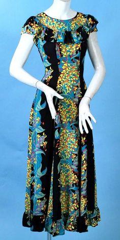 [ Hawaiian Long Dresses ] - Best Free Home Design Idea & Inspiration Hawaiian Fashion, Tropical Fashion, New Dress Pattern, Dress Patterns, Samoan Dress, Hawaii Dress, Hawaii Hawaii, Island Style Clothing, African Print Dress Designs