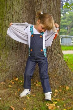 Charles pants / shorts / dungarees (overalls) pattern by Compagnie M.