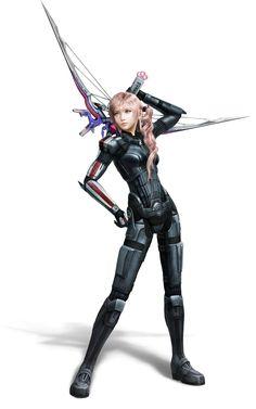 Serah - Mass Effect DLC Costume - Characters & Art - Final Fantasy XIII-2