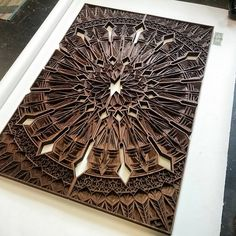 Gabriel Schama laser cut artworks 16
