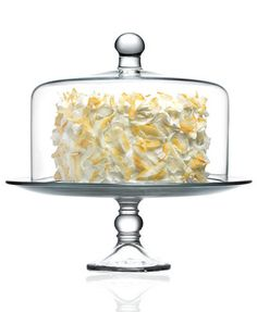 The Cellar Serveware, Cake Stand with Dome, $30