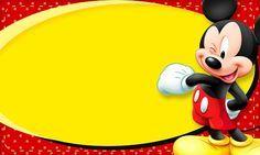 Etiquetas escolares de Minnie, Mickey, Donald y Goody