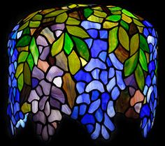 Stained Glass on Tiffany Lamps