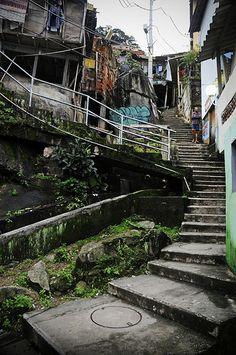Favela Santa Marta, Rio de Janeiro, Brazil
