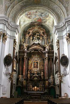 Mariahifer Kirche; Vienna, Austria