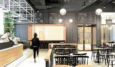 Gloria Jean's Coffee | #restaurantdesign #restaurantinterior #interiordesign