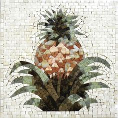 Looking for art that is somewhat out of the ordinary to hang up in your house? look no further than this pineapple stone art. The stone tiles provide the perfect illusion of the pineapple being three dimensional. The shading and hues on this piece are gorgeous. Select it for yourself or to give as a gift. , Get it now for $334.