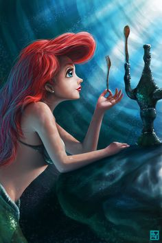 The little mermaid... as far as I can remember this was the first movie I saw at the theatre