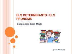 Els determinants i els pronoms