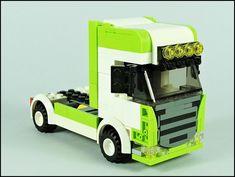 Legos, Lego City Truck, Transporter Van, Lego Machines, Amazing Lego Creations, Lego Construction, Lego Worlds, Lego House, Lego Models