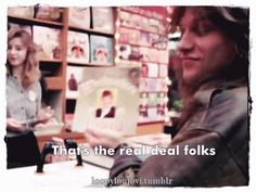 """Jon Bon Jovi in East Berlin showing the 1 rock 'n roll record they have in """"Access All Areas"""" rock doc (1990). @loopyloujovi 