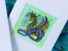 Dragon dreams | Cross Stitching freebie with site registration