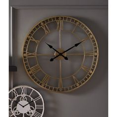 Free delivery over to most of the UK ✓ Great Selection ✓ Excellent customer service ✓ Find everything for a beautiful home Wall Clocks Uk, Gold Wall Clock, Living Room Clocks, Kitchen Wall Clocks, Wall Clock Online, Oversized Clocks, London Clock, Mirror Wall Art, Wall Décor