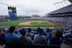 Kauffman Stadium- Home of the Royals