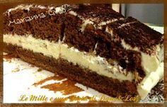 Torta cioccolato e caffè ripiena di crema al mascarpone